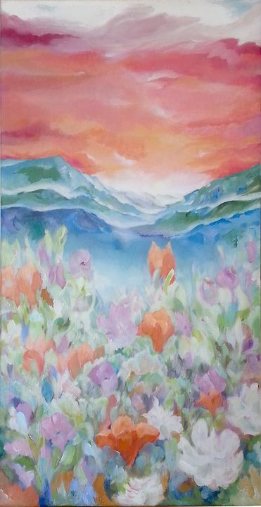 """Nature at dawn"" - Paintings by Linda Knotter"