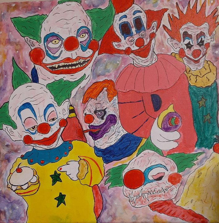 Killer Clowns - Alejandro Pierre Hedges