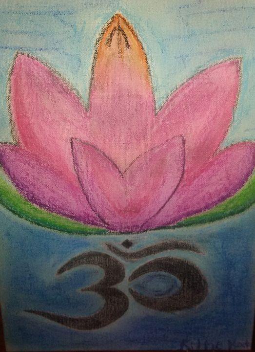 Namaste water lily - Kittie von Kat Kollection