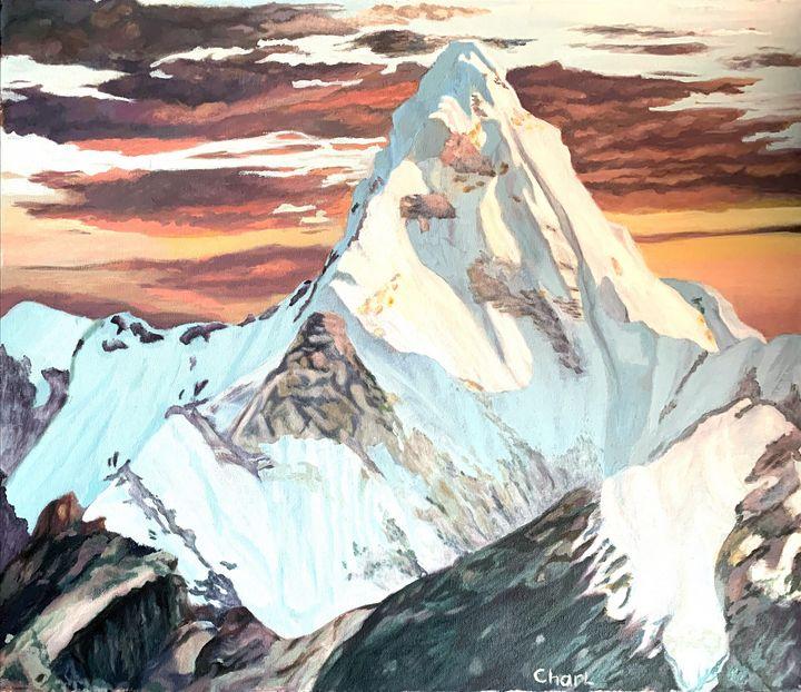 Strong Mountain - Charl John Ruiters