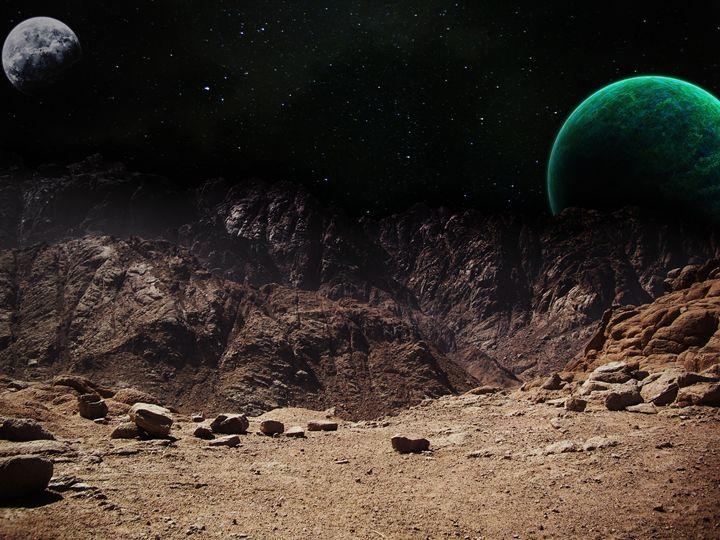 Outskirts of Tatooine - Lyrinah