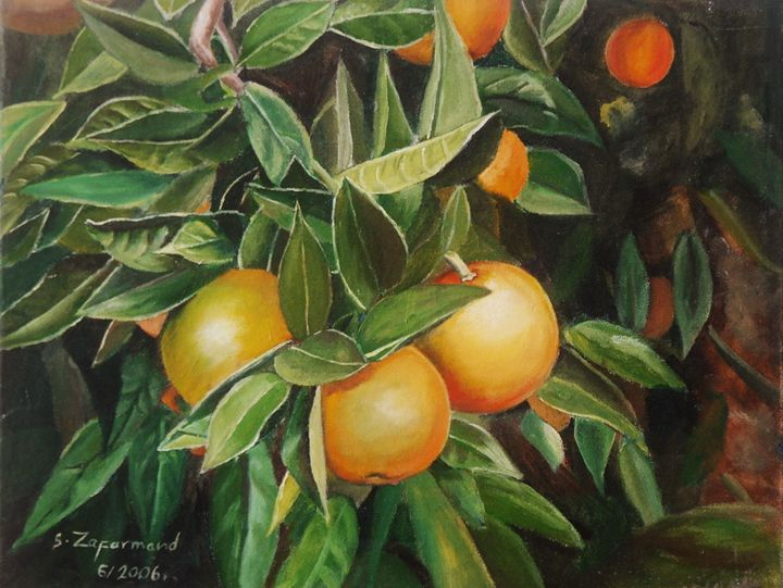 Oranges - Beyond ART Gallery