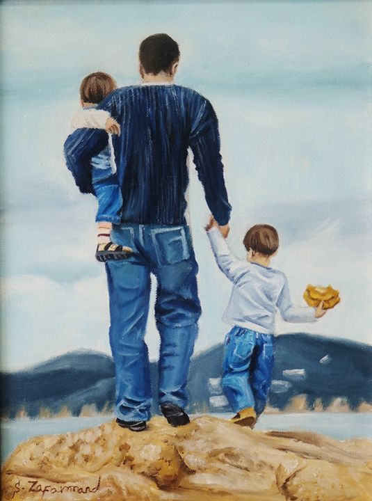 A nice day with Dad - Beyond ART Gallery