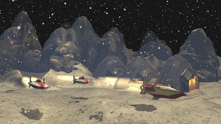 Patrol on Hoth - T. Gossler Digital Art