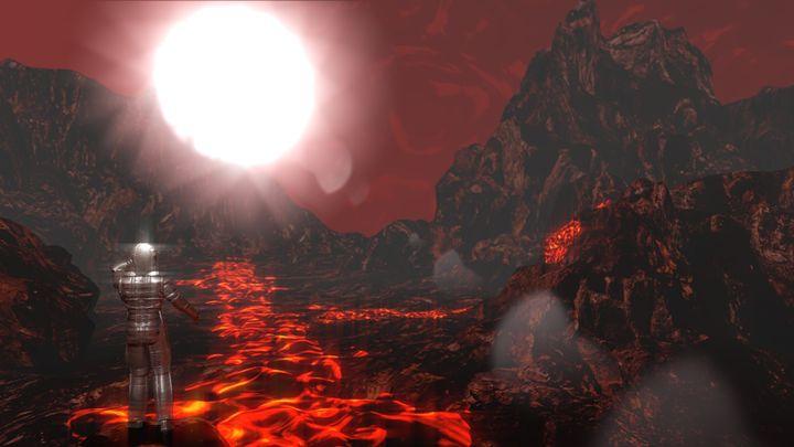 Red Hell - T. Gossler Digital Art
