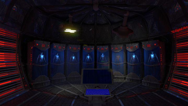 Cryo-Chamber - T. Gossler Digital Art