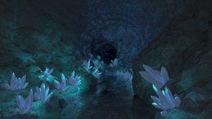 Crystal Cave - T. Gossler Digital Art