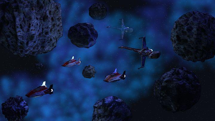 Space Patrol - T. Gossler Digital Art