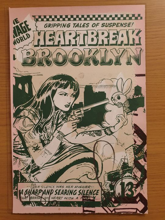 Faile Heartbreak Brooklyn - Private Urban Art Collection