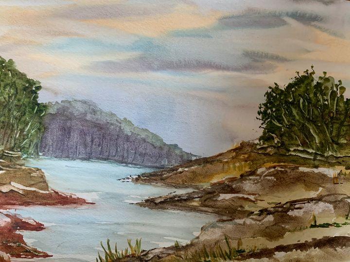 Lakeside hills - Algay