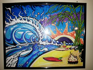 Drew Brophy Surf Art