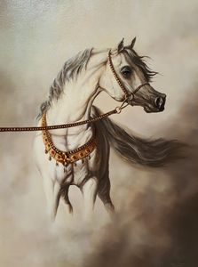 White Horse art print (signed)
