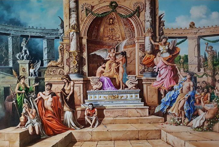 THE JUDGEMENT DAY OF APOLLO - Robert Art Gallery