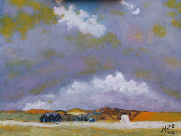 Suffolk Skies Study - Mo Leyva's Art