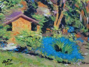 Spring Garden Impasto