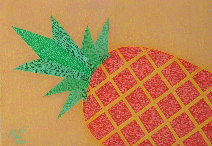 Graphic Pineapple - Mo Leyva's Art