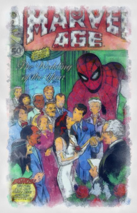 Spiderman 's Wedding of the year - dbJR
