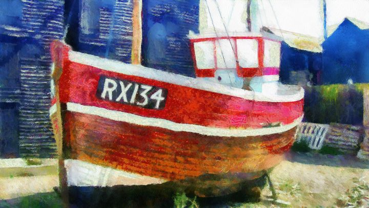 The fishing boat of Hastings - dbJR