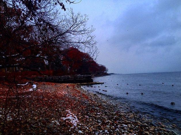winter blues - Nature porn