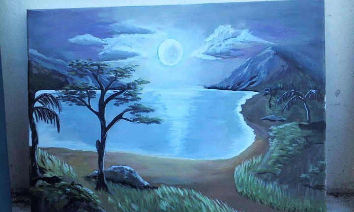 Moonlight - Dania's Jamaican Art Place