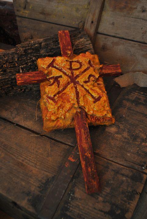 THE MONOGRAM OF JESUS CHRIST - Art Petrov Gallery