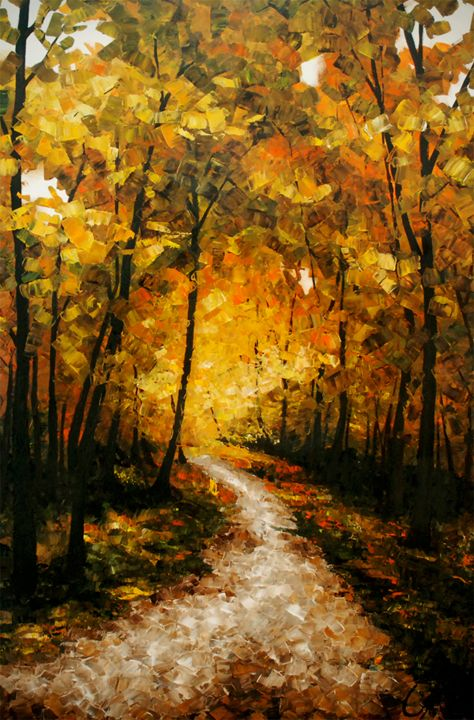 Autumn Road - Suzanna Kubisova