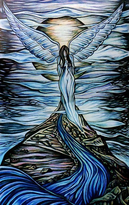 MOON ANGEL - Mike Unrue