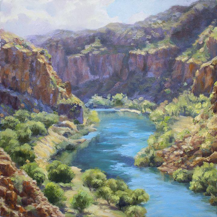 """ Scenery of Kimberly "" - Tatsi Fine Art"