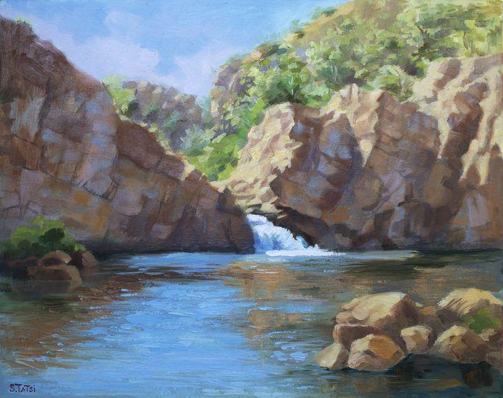 """ Kimberly's rocks"" - Tatsi Fine Art"