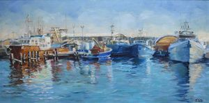 """ Harbour in Freo"""