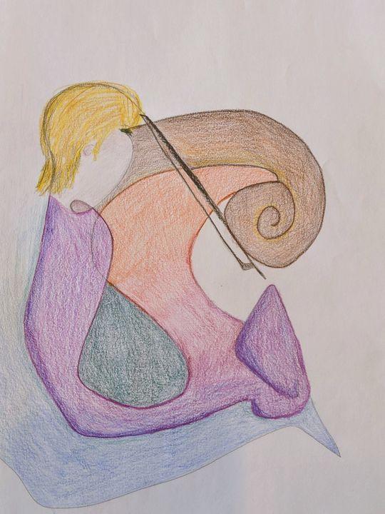 Abstract strings - Art by Adeena