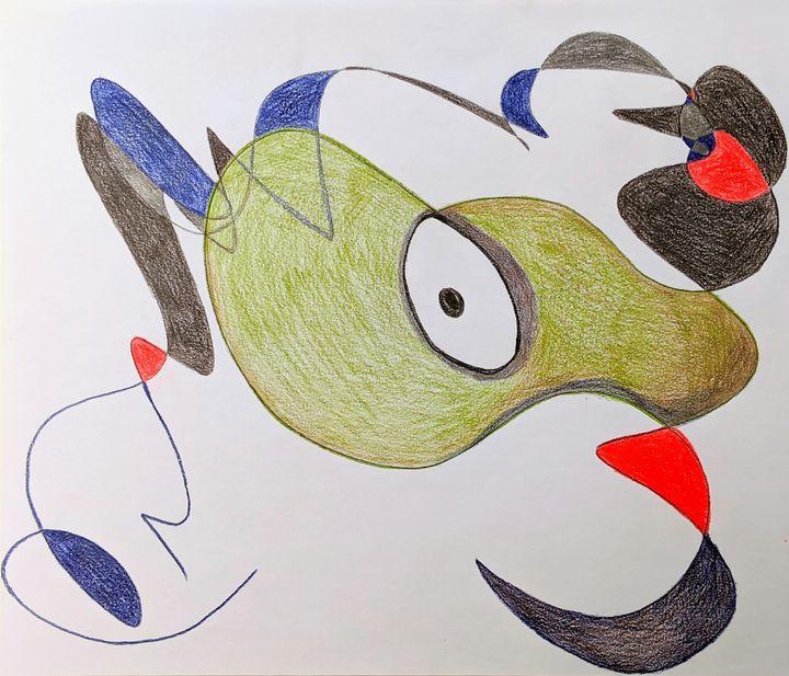 Scared Forward and backward - Art by Adeena