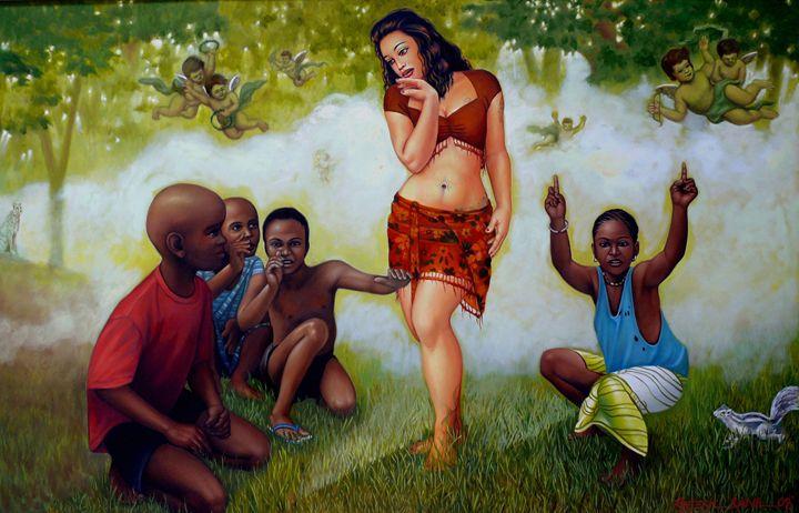 The Venus in The Garden - Rajesh Rana