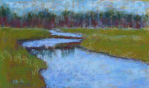The Marsh, Cape Cod - Elaine Benevides Pastel Artist