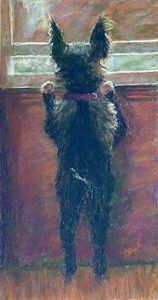 Watch Dog - Elaine Benevides Pastel Artist