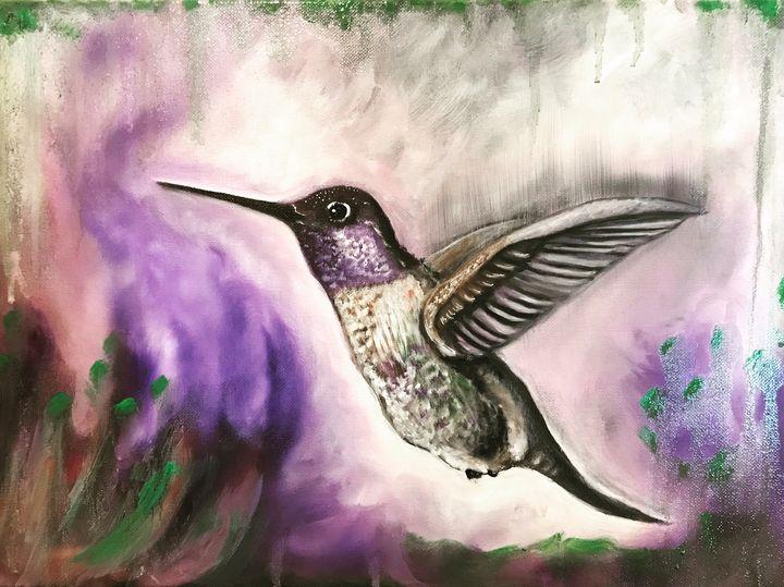 Hummingbird - Justin art
