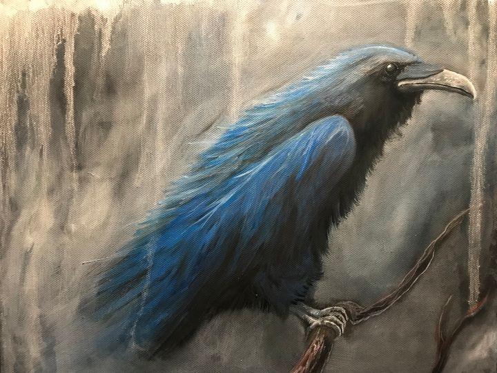 Blue raven - Justin art