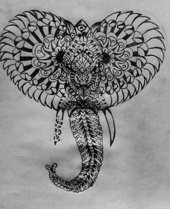 Mandala Sketch - LEHH Designs