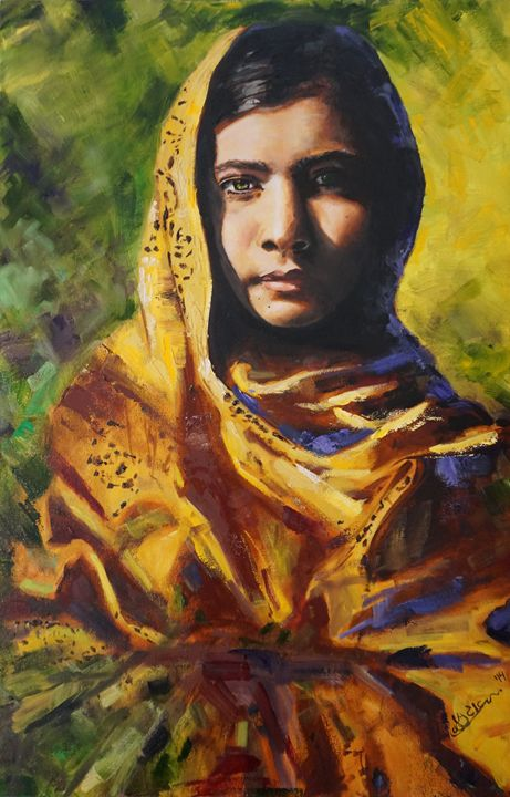 She Is Malala - Art for Thought