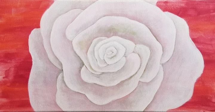 White Rose - laurenadilayart