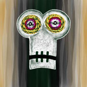 Drained Skull