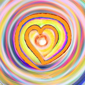 All colored Heart