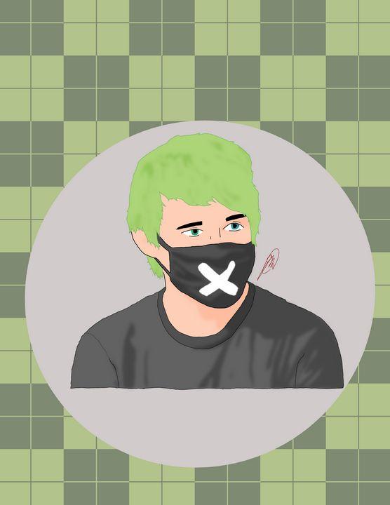 Masked Awsten Knight - Trash Studios