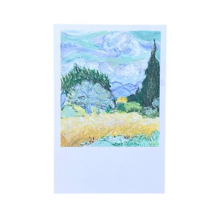 Field (Van Gogh) - Crazierartists