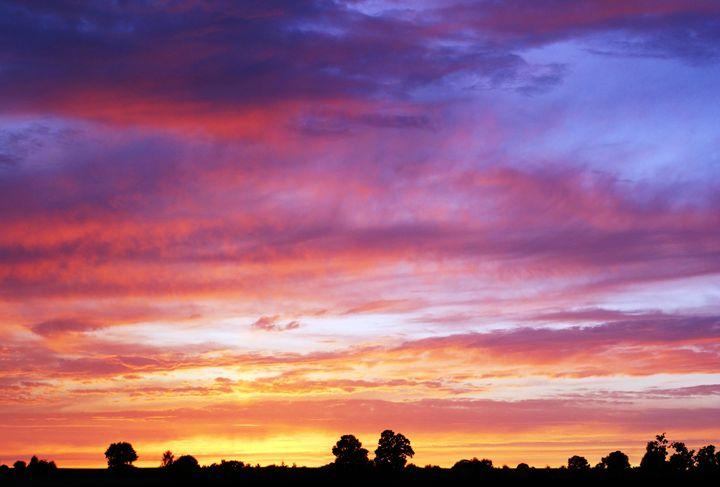 Fire Springs Upon Twilight - Selene