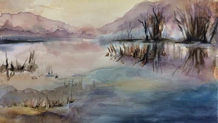 Morning Marsh - Sophie Bryla