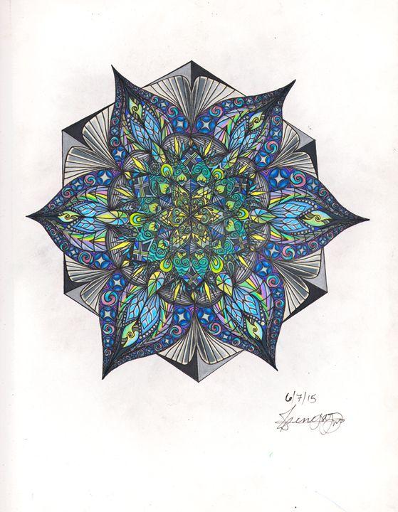 Genesis Mandala - The Abstract