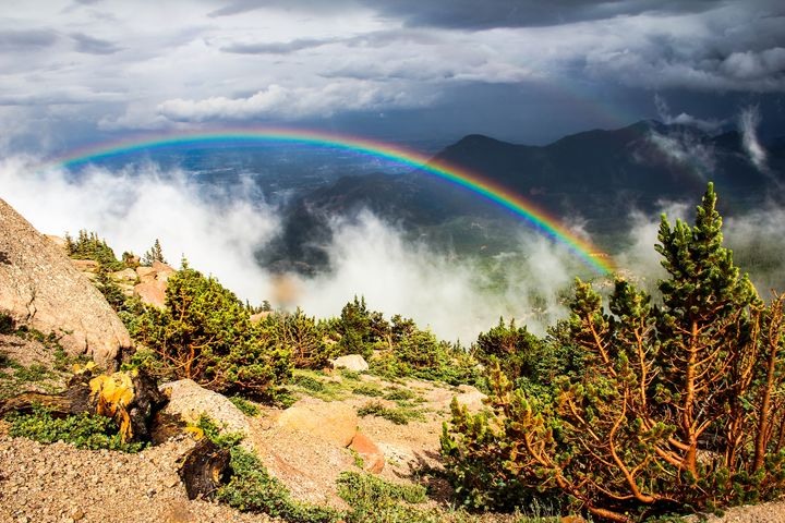 Rainbows in the Rockies - Jayson's Photography