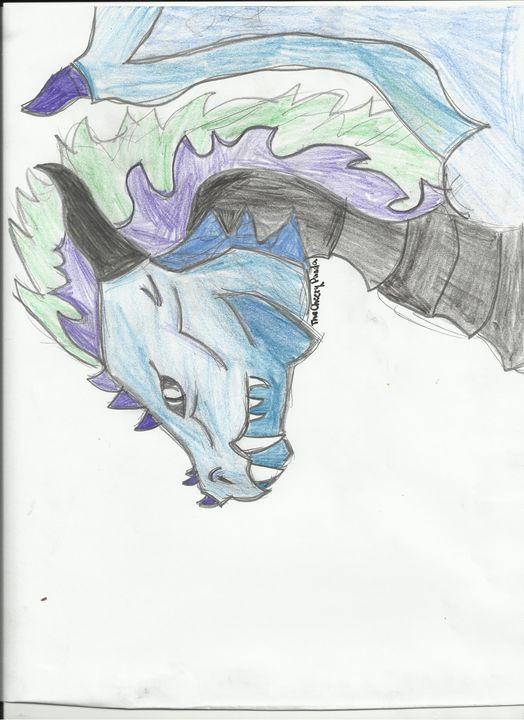 Blue Dragon - TheCheesyPanda