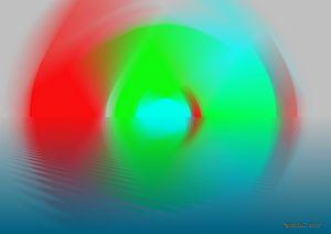 Lichtschwingung gesiegelt 39 - Galerie Art dELLaS  Thomas Dellenbach